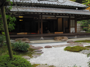 Zen Garden and Tea Ceremony